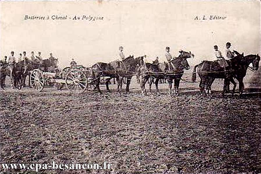 Batteries à Cheval - Au Polygone