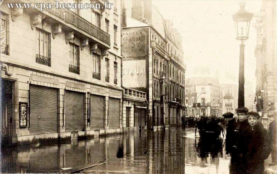 Inondations rue Carnot